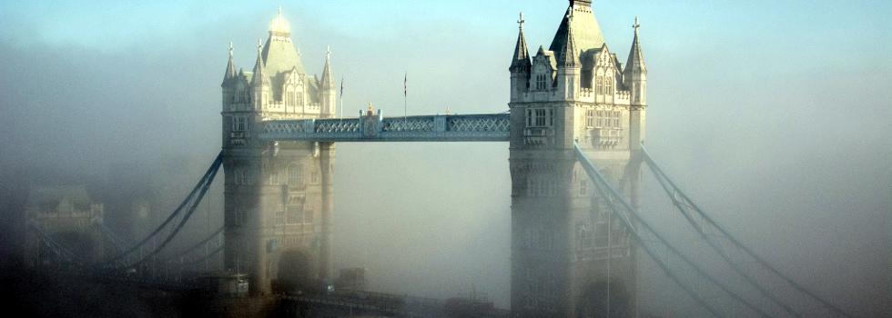 Foggy Tower Bridge by MsSaraKelly on Flickr